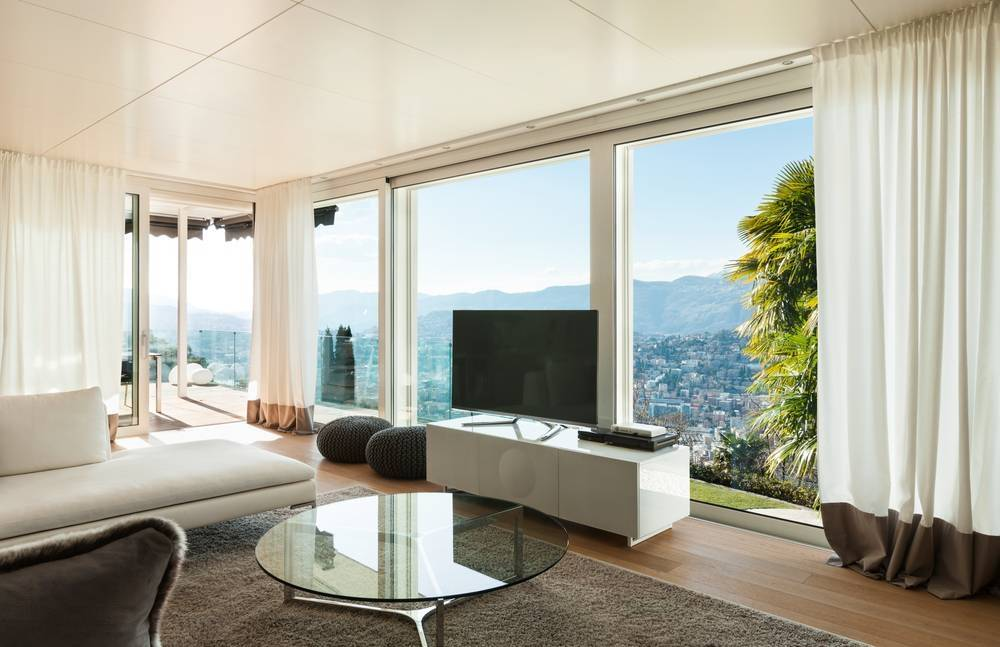 Living room | decorative curtain hardware | Thomas Regout B.V.