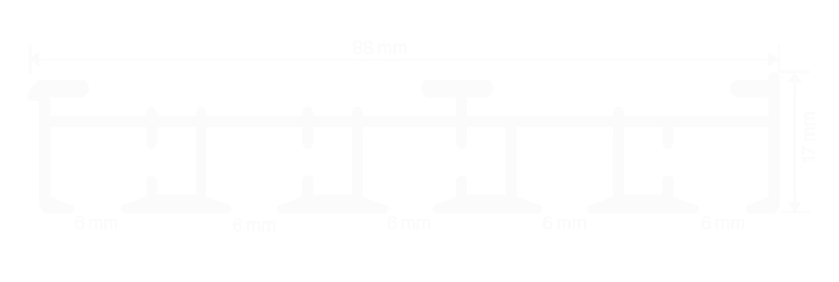 A6905 | panel track | Thomas Regout B.V.